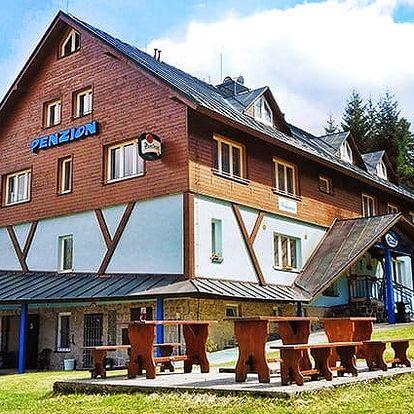 4–7denní pobyt pro 2 osoby v penzionu Lenka v Jizerských horách