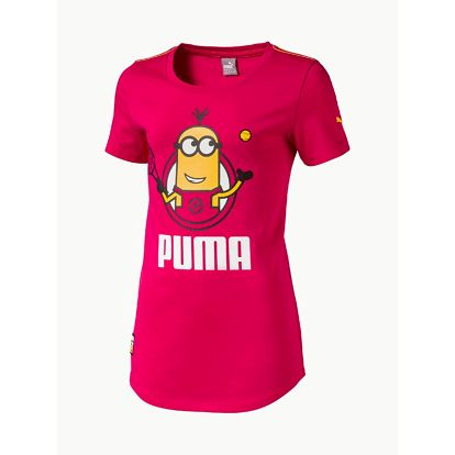Tričko Puma Minions Tee Love Potion Růžová