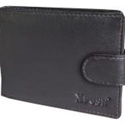 XPOSE ® Pánská peněženka XPOSE XN-01 - tmavě hnědá