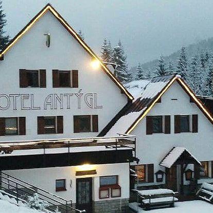 3–7denní pobyt pro 2 s polopenzí a odpolední kávičkou v hotelu Antýgl na Šumavě