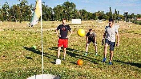 2 hodiny folfu: sportu mezi fotbalem a golfem