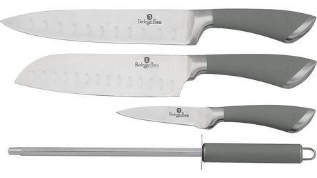 Berlinger Haus 4dílná sada nožů Velvet, šedá