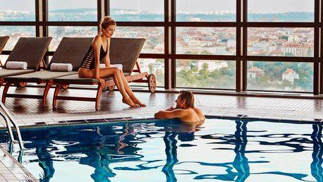 Praha luxusní: Wellness pobyt v 5* hotelu