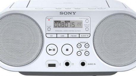 Sony ZS-PS50W, bílá