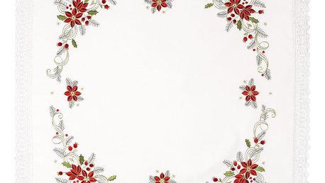 Forbyt Vánoční ubrus Felix, 85 x 85 cm