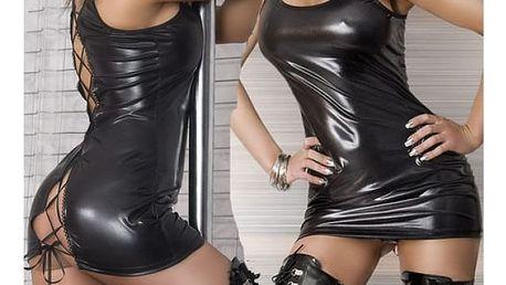 Erotické latexové šaty Fancy