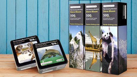 3D puzzle National Geographic se zvířaty