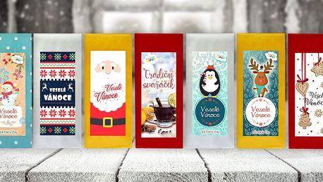 Balíčky vánočních směsí čajů, svařáků i punčů