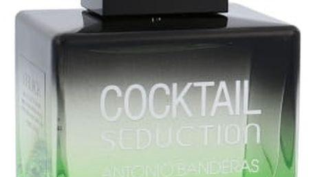 Antonio Banderas Cocktail Seduction in Black 100 ml toaletní voda pro muže