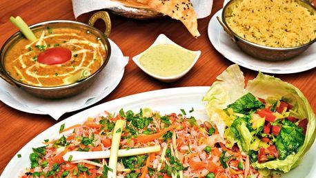Dárkový voucher do indické restaurace