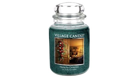 Village Candle Vonná svíčka ve skle, Kouzlo Vánoc - Home for Christmas, 645 g