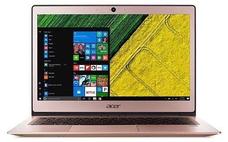Notebook Acer Swift 1 (SF113-31-P2XQ) (NX.GPQEC.001) růžový/zlatý + Doprava zdarma