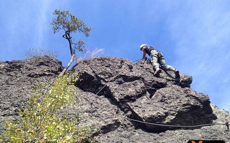 Via Ferrata - kurz horolezectví na vodní bráně vč. vybavení