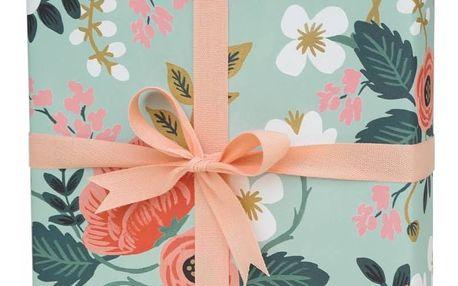 Rifle Paper Co. Balicí papír s květinami Birch, modrá barva, papír (slevový kód JEZISEK24 na -24 %)
