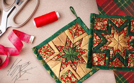 Kurz kreativního šití: nápadité vánoční doplňky