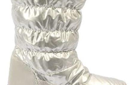 Zateplené dámské sněhule silver