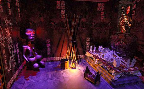 Únikovka s aztéckou tematikou pro 2 nebo 4 hráče