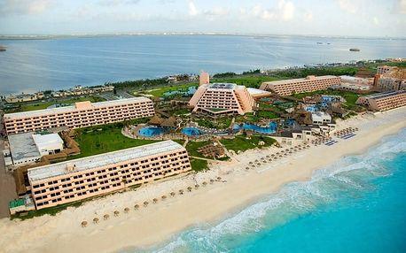 Mexiko - Cancún na 11 dní, all inclusive s dopravou letecky z Prahy