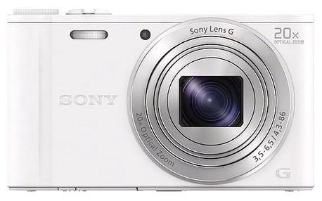 Digitální fotoaparát Sony DSC-WX350 bílý + DOPRAVA ZDARMA