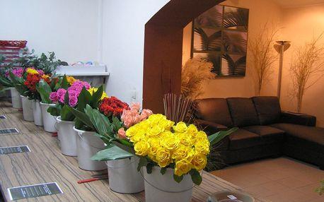6hod. kurz designové floristiky: výroba 3 dekorací - 4 termíny