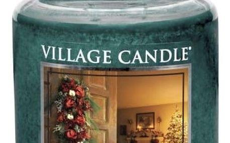 Village Candle Vonná svíčka ve skle, Kouzlo Vánoc - Home for Christmas, 645 g