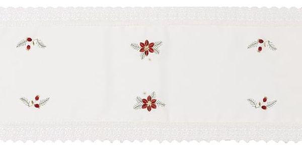 Forbyt Vánoční ubrus Felix, 35 x 160 cm