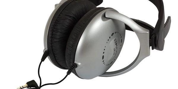 Sluchátka Koss UR 18 (doživotní záruka) černá/stříbrná3