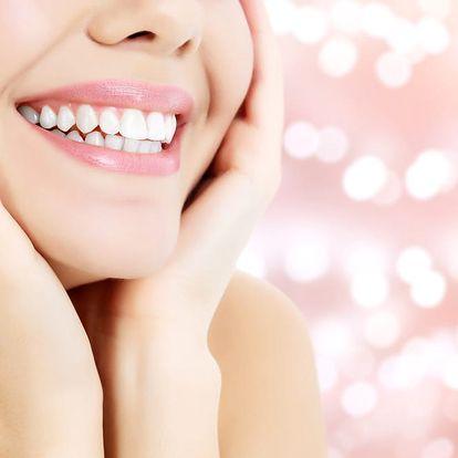 Neperoxidové bělení zubů vč. remineralizace zubní skloviny