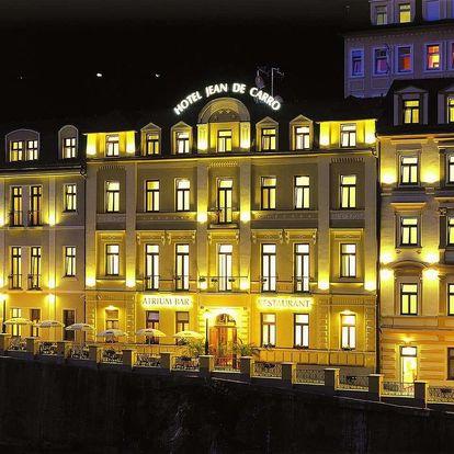 Hotel Jean de Carro**** v Karlových Varech s polopenzí a wellness