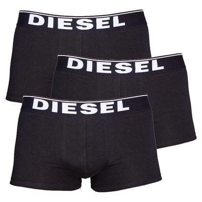 3PACK Boxerky Diesel The Essential Black M