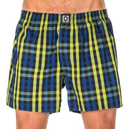 Pánské Trenky Horsefeathers Sin Boxer Shorts Lime Green L