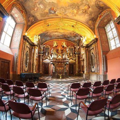 Lednové podvečerní koncerty: Smetana, Dvořák a Vivaldi v Zrcadlové kapli…