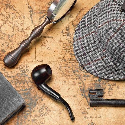 Napínavá detektivní úniková hra pro 3–6 hráčů