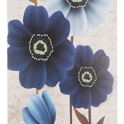 Obraz na stěnu - Modré květy