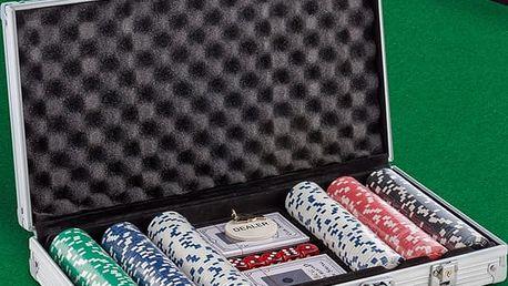 Poker v Luxusním Kufříku Th3 Party 300 žetonů