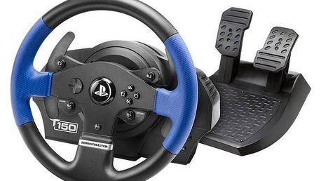 Volant Thrustmaster T150 pro PS4, PS3, PC + pedály (4160628) černý + DOPRAVA ZDARMA