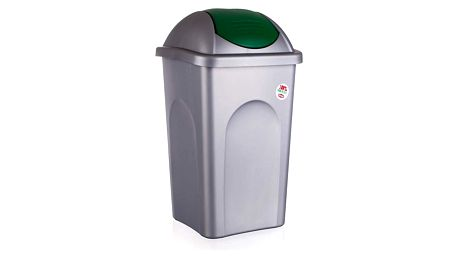 VETRO-PLUS Multipat odpadkový koš zelená 5570158, 60 l