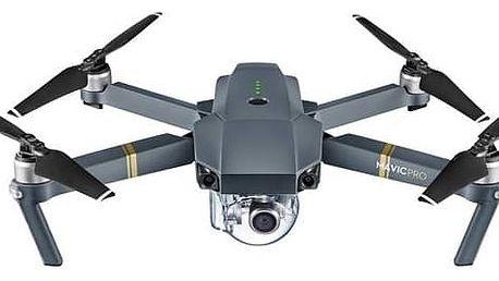 Dron DJI Mavic Pro Fly More Combo, 4K Full HD kamera (DJIM0250C) šedý + Doprava zdarma