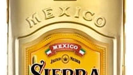 Tequila Sierra Reposado 1l 38% Gold