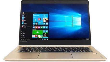 Notebook Lenovo IdeaPad 710S Plus-13IKB (80W3003RCK) zlatý + Doprava zdarma