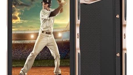 Mobilní telefon iGET GBV7000 (84000412) zlatý + DOPRAVA ZDARMA