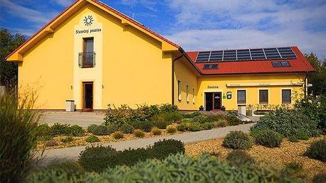3–5denní wellness pobyt pro 2 s degustací vín ve Slunečném penzionu na Moravě