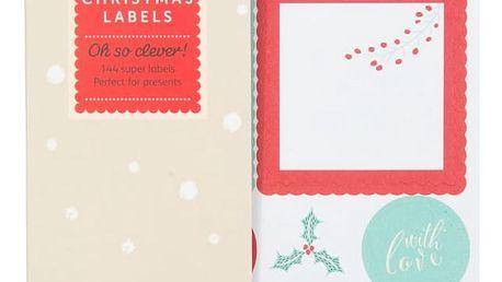 Busy B Sada vánočních samolepek, multi barva, papír