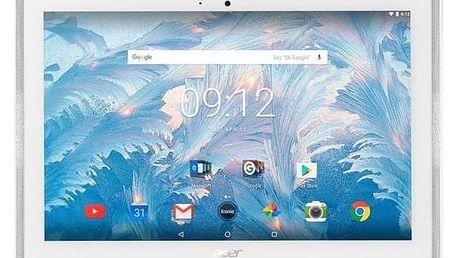 Dotykový tablet Acer Iconia One 10 (B3-A40-K3HZ) (NT.LDNEE.004) bílý + Doprava zdarma