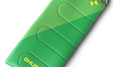 Spací pytel Husky Outdoor Kids Milen -5°C zelený + Doprava zdarma