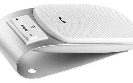 JABRA handsfree DRIVE/ bluetooth/ DSP s automatickou regulací hlasitosti/ montáž na sluneční clonu/ bílý