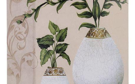Obraz na stěnu - Zelená větvička ve váze
