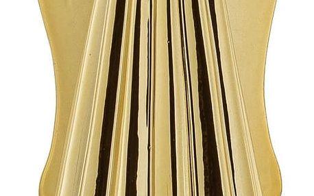 Bloomingville Porcelánová soška Angel Gold, zlatá barva, porcelán