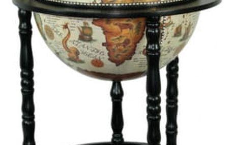 Globus bar dřevěný