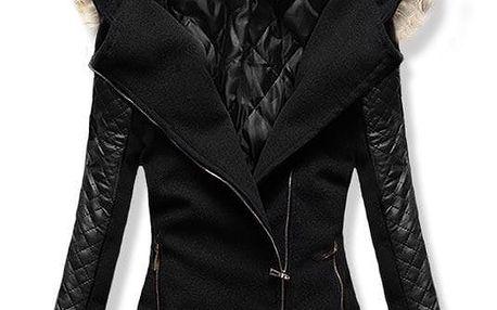 Dámský kabát Alska černý